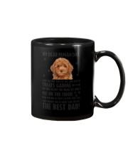 Poodle Dear Human Dad 0106 Mug tile