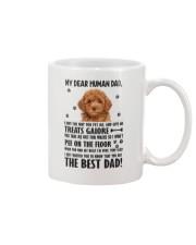 Poodle Dear Human Dad 0106 Mug front