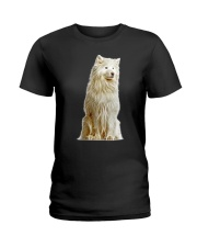 Samoyed Light Ladies T-Shirt thumbnail