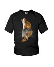 Bulldog Dreaming Youth T-Shirt thumbnail