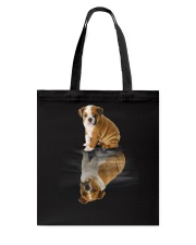 Bulldog Dreaming Tote Bag thumbnail