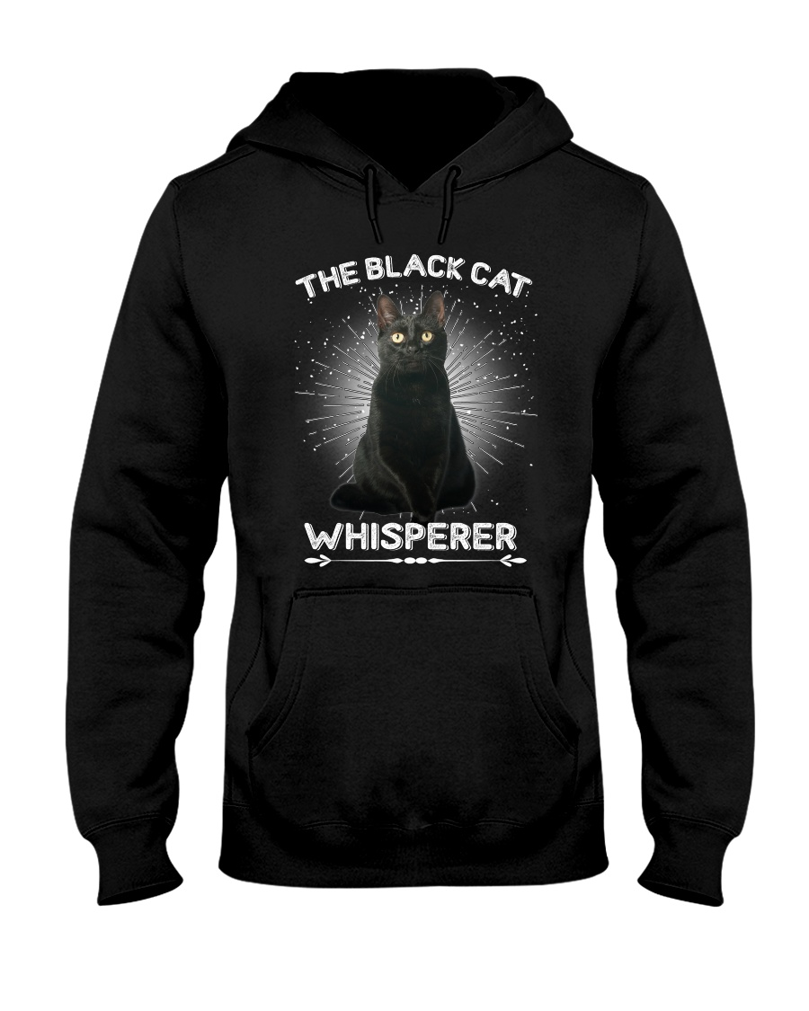 GAEA - Black Cat Whisperer - 1811 - 38 Hooded Sweatshirt