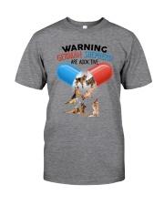 GAEA - German Shepherd Addictive 1804 Classic T-Shirt front