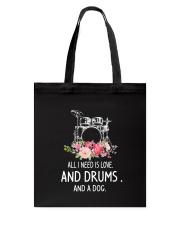 Drums And Dog 2304 Tote Bag thumbnail