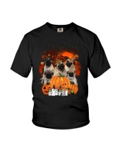 ZEUS - Pug Halloween New - -0709 - 03 Youth T-Shirt thumbnail