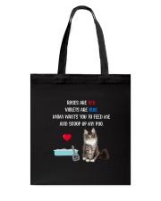 Cat Rose and Violet 1306 Tote Bag thumbnail
