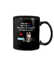 Cat Rose and Violet 1306 Mug thumbnail