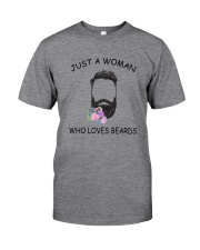 beard Love Woman 2104 Classic T-Shirt front