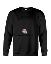 beard Love Woman 2104 Crewneck Sweatshirt thumbnail