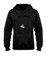 beard Love Woman 2104 Hooded Sweatshirt thumbnail