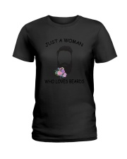beard Love Woman 2104 Ladies T-Shirt thumbnail