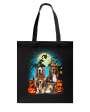 Gaea - Basset Hound Halloween - 1608 - 13 Tote Bag thumbnail