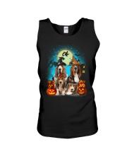 Gaea - Basset Hound Halloween - 1608 - 13 Unisex Tank thumbnail