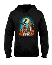 Gaea - Basset Hound Halloween - 1608 - 13 Hooded Sweatshirt thumbnail