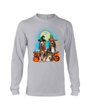 Gaea - Basset Hound Halloween - 1608 - 13 Long Sleeve Tee tile