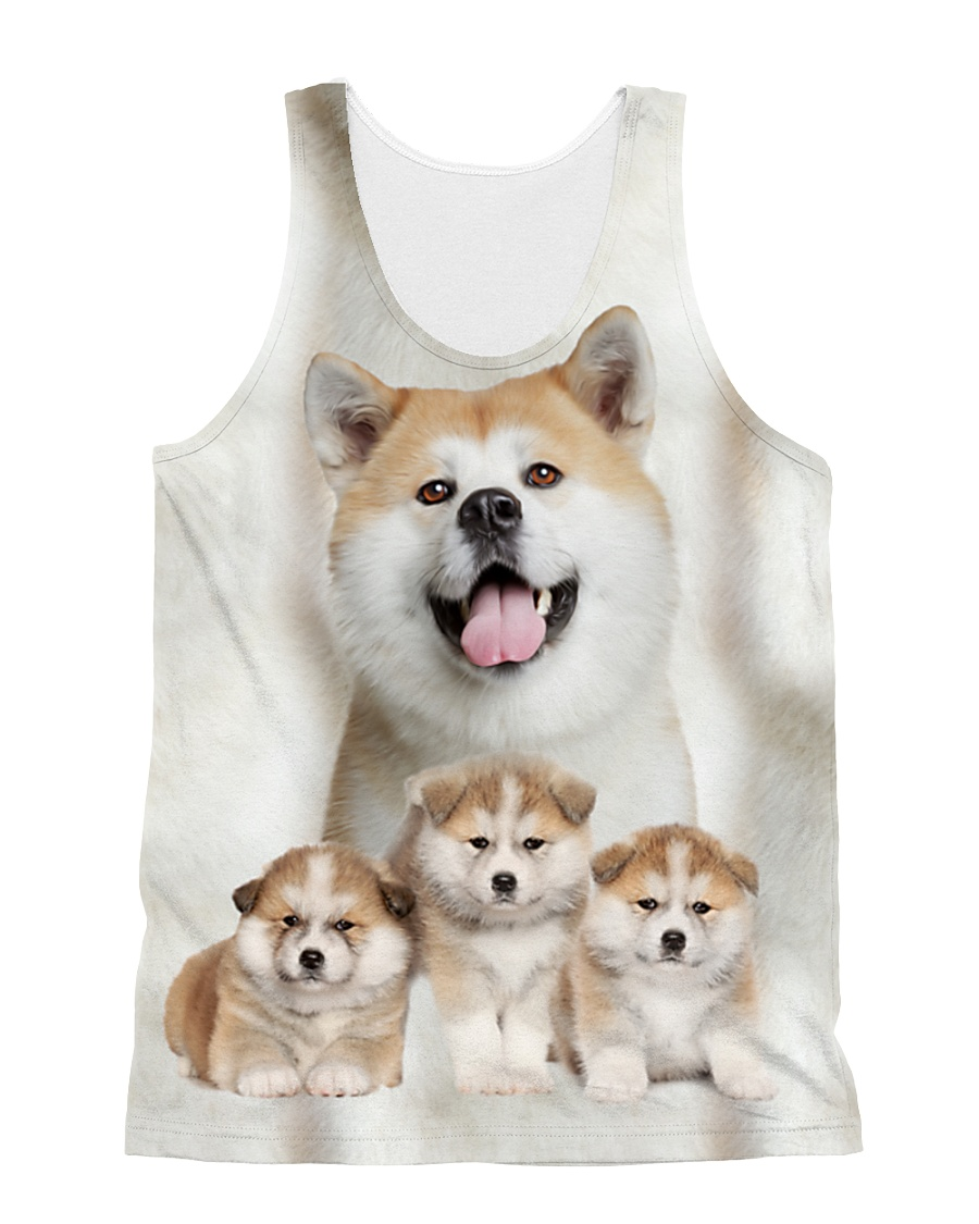 Akita Awesome 2104 All-over Unisex Tank