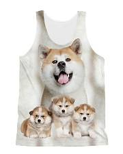 Akita Awesome 2104 All-over Unisex Tank front