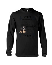 German Shepherd My Dad 0506 Long Sleeve Tee thumbnail