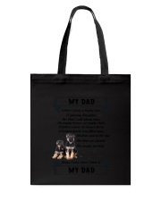 German Shepherd My Dad 0506 Tote Bag thumbnail
