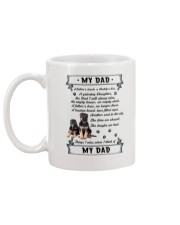 German Shepherd My Dad 0506 Mug back