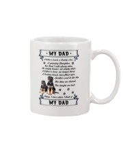 German Shepherd My Dad 0506 Mug front