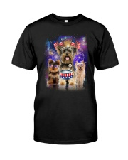 Yorkshire Terrier Independence 0706 Classic T-Shirt tile