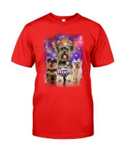 Yorkshire Terrier Independence 0706 Classic T-Shirt front