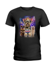 Yorkshire Terrier Independence 0706 Ladies T-Shirt thumbnail