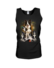 GAEA - Border Collie Smile 0904 Unisex Tank thumbnail
