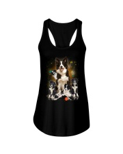 GAEA - Border Collie Smile 0904 Ladies Flowy Tank thumbnail