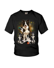GAEA - Border Collie Smile 0904 Youth T-Shirt thumbnail