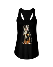 Bernese Mountain Dog Light Ladies Flowy Tank thumbnail