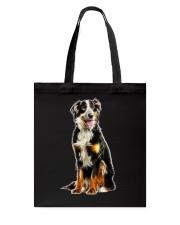 Bernese Mountain Dog Light Tote Bag thumbnail