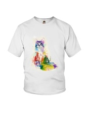 GAEA - Cat Water Color 0604 Youth T-Shirt thumbnail