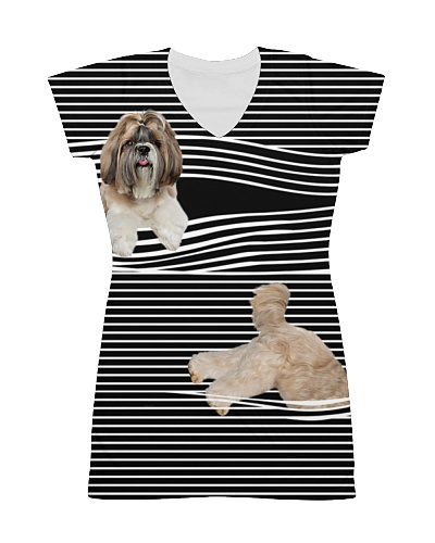 Shih Tzu Striped