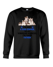 Siberian Husky Father 0106 Crewneck Sweatshirt tile