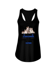 Siberian Husky Father 0106 Ladies Flowy Tank thumbnail