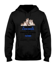 Siberian Husky Father 0106 Hooded Sweatshirt thumbnail