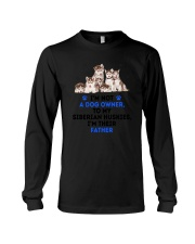 Siberian Husky Father 0106 Long Sleeve Tee thumbnail