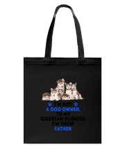 Siberian Husky Father 0106 Tote Bag thumbnail