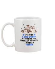 Siberian Husky Father 0106 Mug back