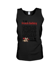 French Bulldog Will Be There 0606 Unisex Tank thumbnail