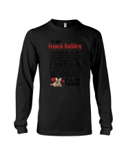 French Bulldog Will Be There 0606 Long Sleeve Tee thumbnail