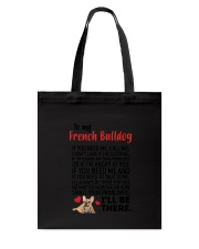 French Bulldog Will Be There 0606 Tote Bag thumbnail