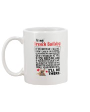 French Bulldog Will Be There 0606 Mug back