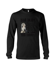 Bearded Collie Daddy Favorite 2105 Long Sleeve Tee thumbnail