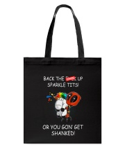 Unicorn get Shanked 2604 Tote Bag thumbnail