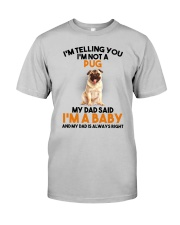 Pug Baby 2905 Classic T-Shirt front