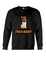 Pug Baby 2905 Crewneck Sweatshirt thumbnail