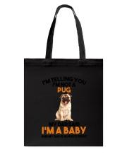 Pug Baby 2905 Tote Bag thumbnail